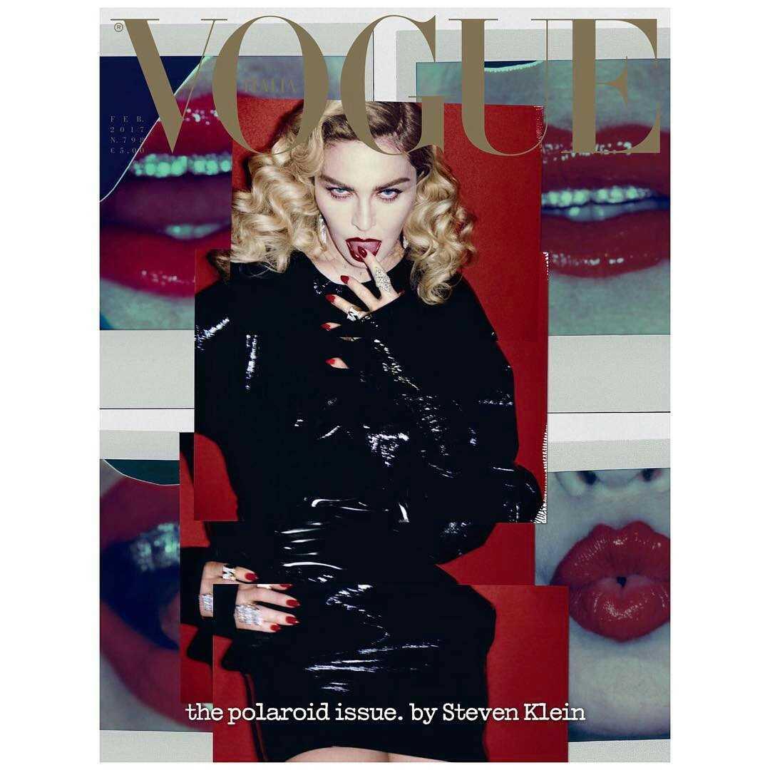 VOGUE ITALIA Feb 17 COVER