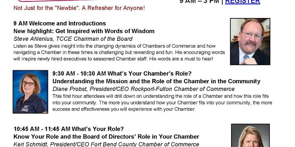 TCCE Chamber Basics (Summer)