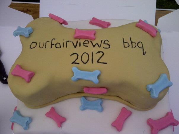 The 2012 ourfairview BBQ cake