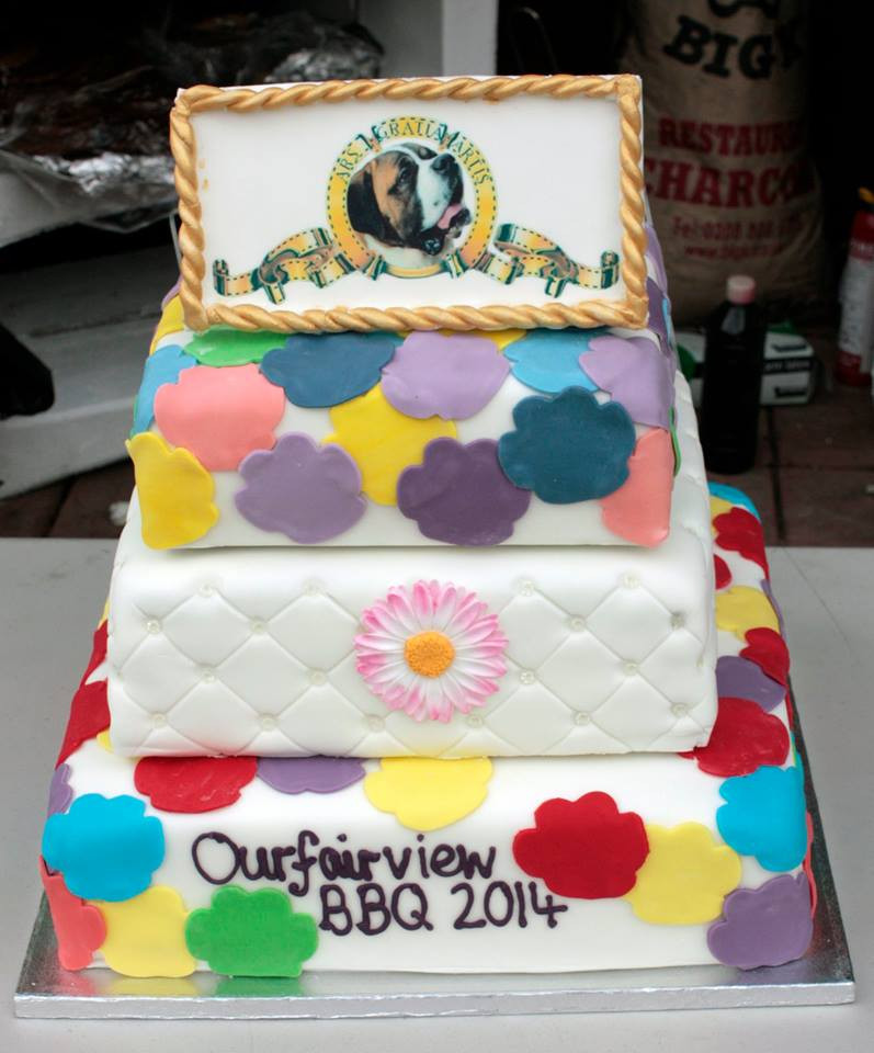 Ourfairview BBQ cake 2014