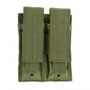 VISM® by NcSTAR® DOUBLE PISTOL MAG POUCH/GREEN
