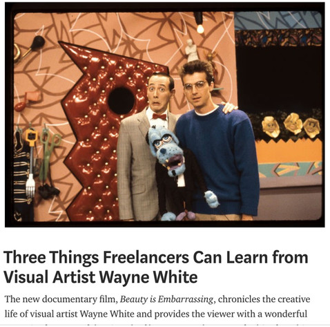 Three Things Freelancers Can Learn from Wayne White