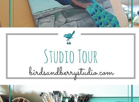 Studio Tour and Art Supplies
