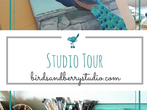 Studio Tour and Art Supplies