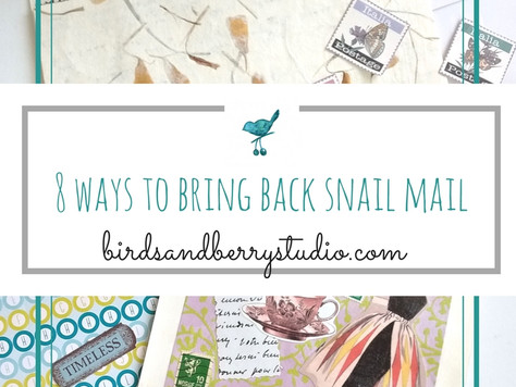 8 Ways to Bring Back the Lost Art of SnailMail