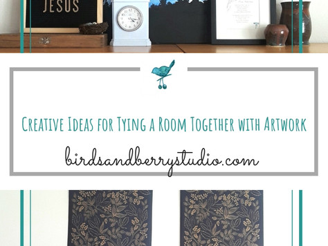 9 Ideas for Tying a Room Together with Artwork