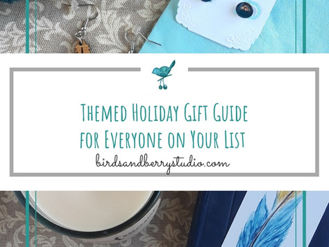 Small Business Holiday Gift Guide and Exclusive Sale Codes