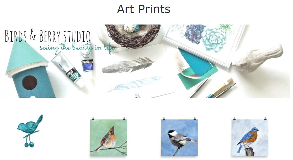 Bird and Landscape Art Prints