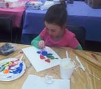 Jackson Pollock inspired art