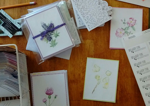 Watercolor Art Cards and Prints