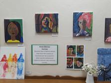 Matisse inspired portraits