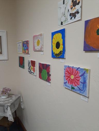 Georgia O'Keeffe inspired art