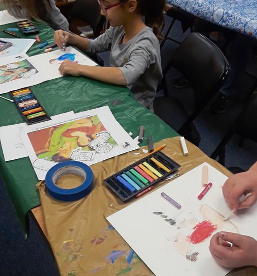 Mary Cassatt Inspired Art