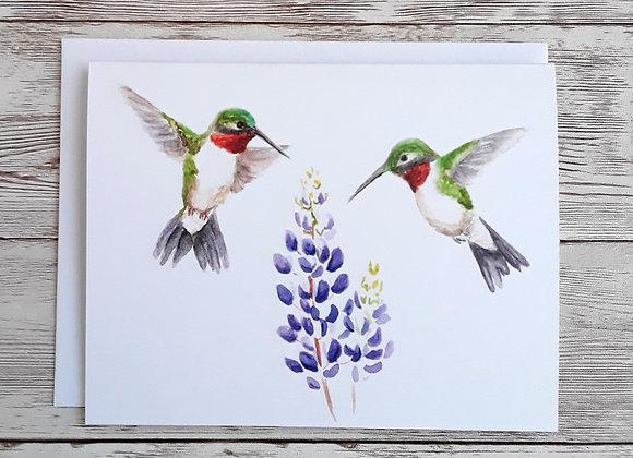 Hummingbird Note Cards