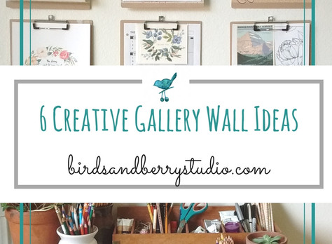 6 Ideas to Brighten a Space with GalleryWalls