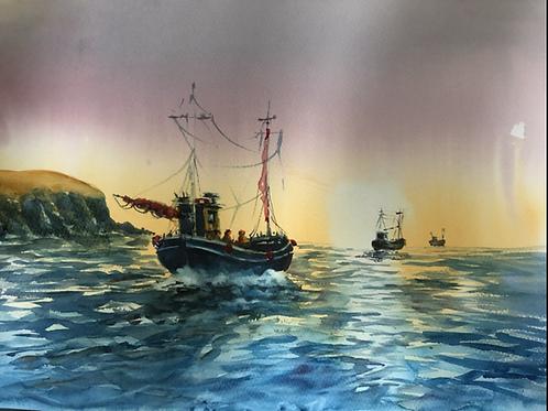 Trawler convoy