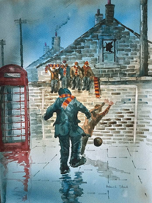 Backstreet Bantams (Signed Print)