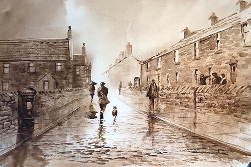 On the cobbles