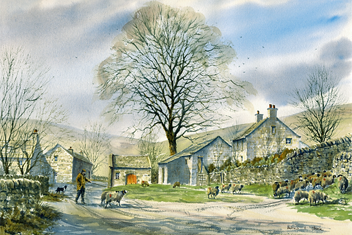 Dales Farm (Signed Print)