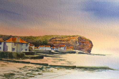 Staithes from the beach