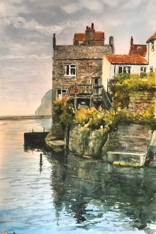 Staithes, High tide