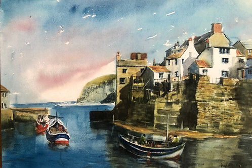 Staithes Pack of 4 Cards
