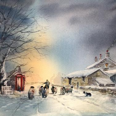 Winters calling