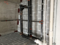 Photos of Sprinkler Pre-Commencement of