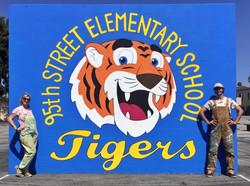 95th St Elementary School Tigers Handbal