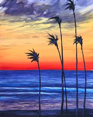 Palm Dusk