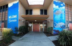 Loren Miller Elementary Main Entrance Pa