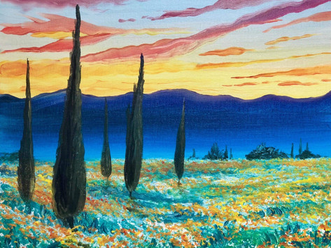 Sunset Cypress