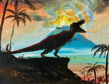 Hail to T-Rex
