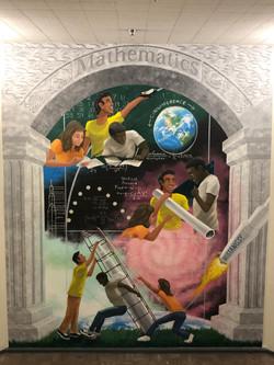 Bethune STEAM Math Mural McBride Arts