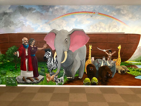 Agape Church Noahs Ark Mural.JPG