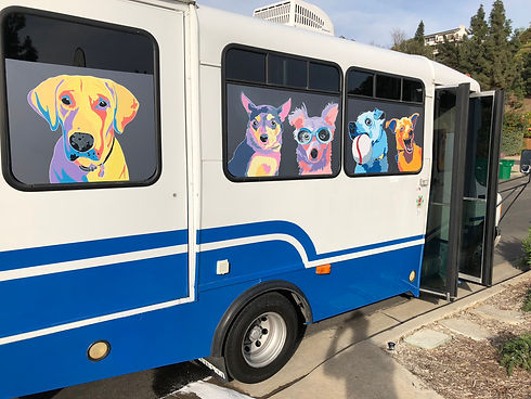 Mobile Dog Grooming Window Murals.JPG