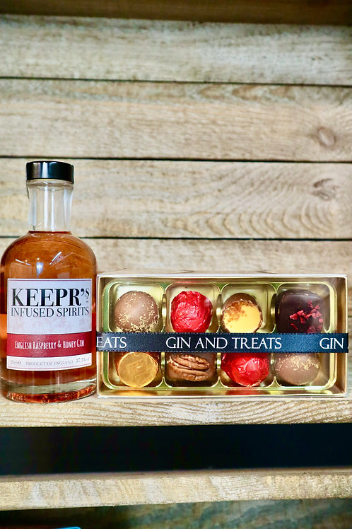 Gin & Chocolate Gift Box (R & H)