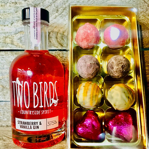 Strawberry & Vanilla & Chocolates gift box