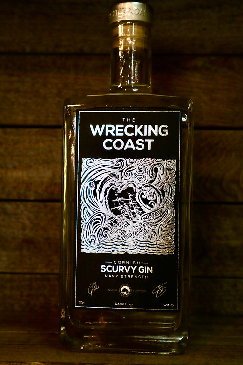Wrecking Coast Navy Strength Gin