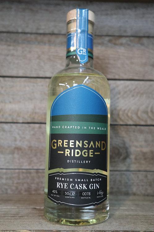 Greensand Ridge Rye Cask Gin