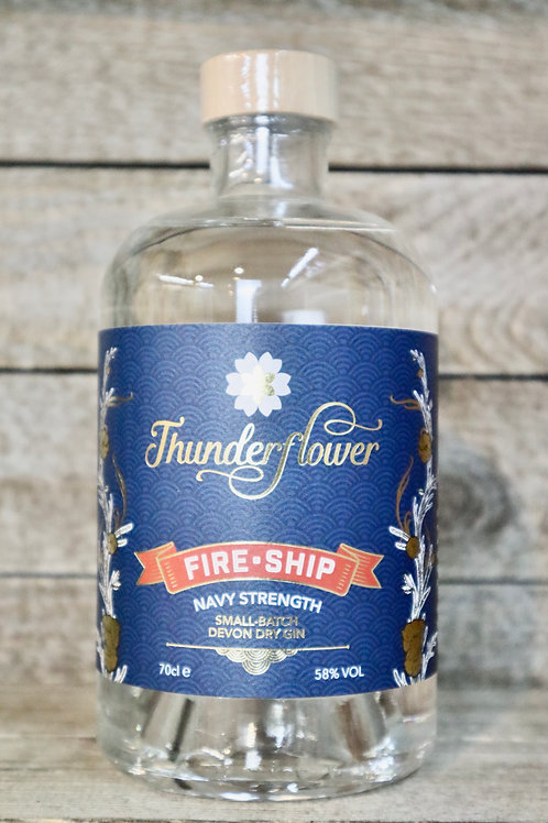 Thunderflower Fire-Ship   Navy Strength Gin
