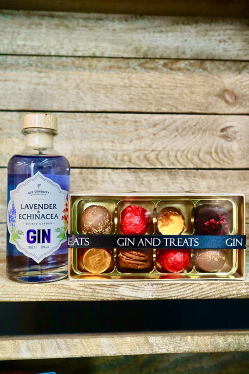 Gin & Chocolate Gift Box (L & E)