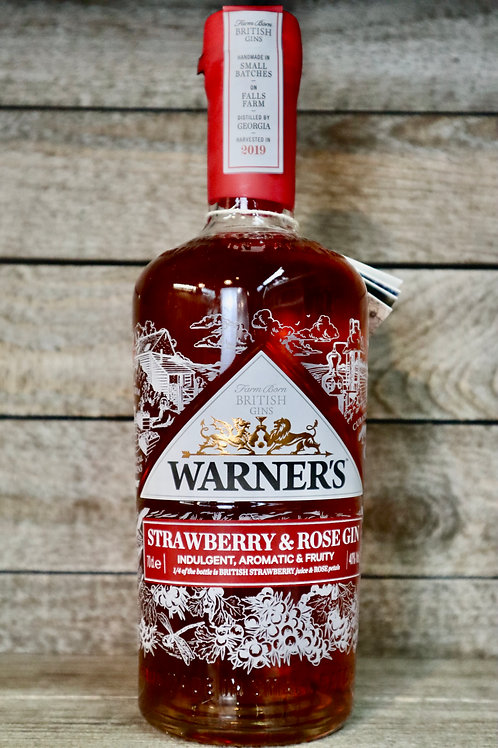 Warners Strawberry & Rose Gin