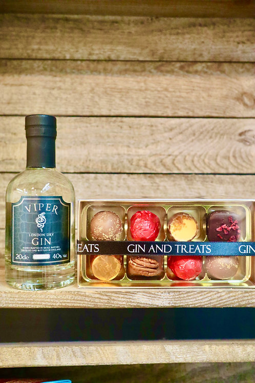 Viper Gin & Chocolate Gift Box