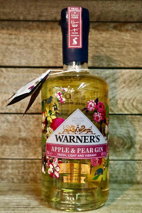 Warners Apple & Pear Gin  Ltd Edition