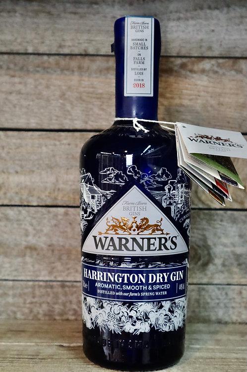 Warners Harrington Dry Gin
