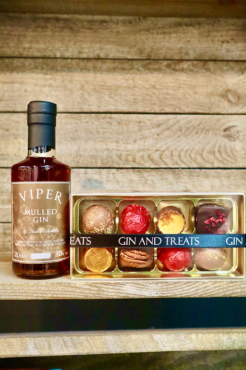 Viper Mulled Gin & Chocolate Gift Box