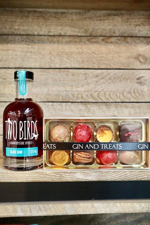 Sloe Gin & Chocolate Gift Box