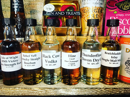 Virtual Spirits Tasting & Discovery Evening  Kit 63