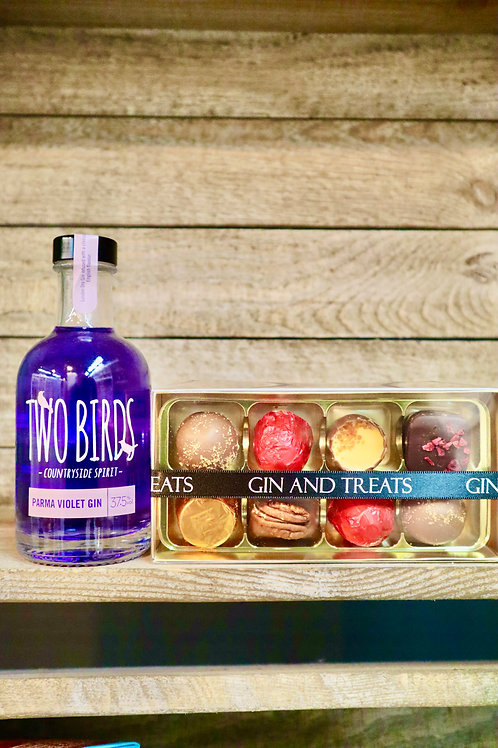 Violet Gin & Chocolate Gift Box